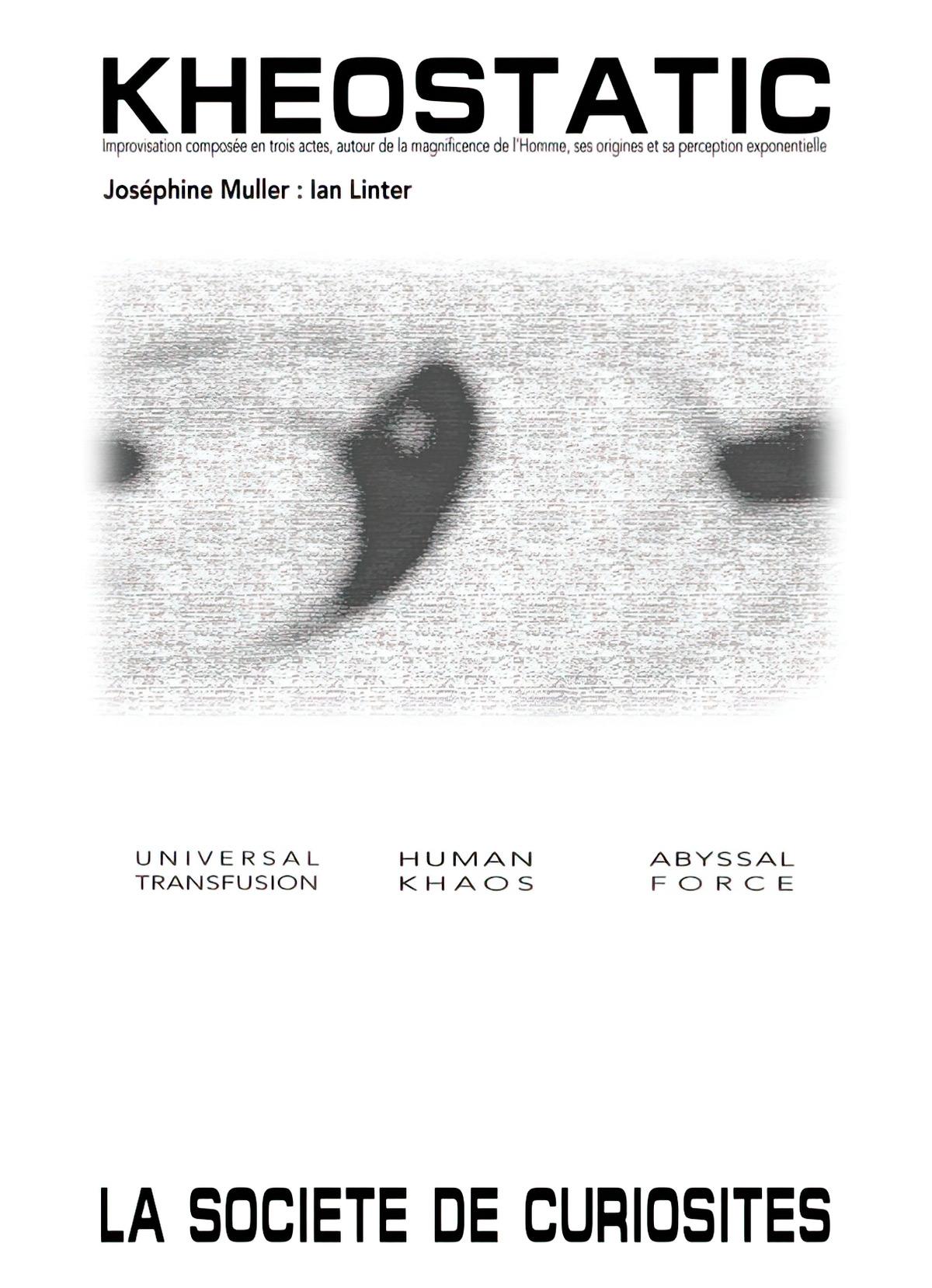 Ian Linter - Joséphine Muller - Kheostatic